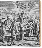 Adonis Being Born From Myrrha Wood Print