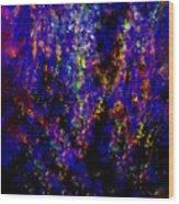 Adrenaline Rush In The Night  Wood Print