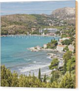 Adriatic Coast In Croatia Wood Print