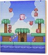 Adventure Kirby Wood Print