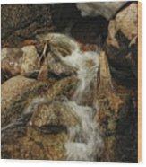 Adventures Of Stickman Wood Print