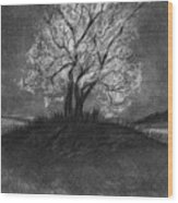 Advice From A Tree Wood Print