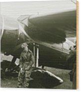Amelia Earhardt, Ireland, Solo Atlantic Crossing, May 21st, 1932 Wood Print