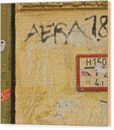 Aera 787 Wood Print