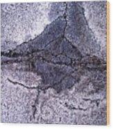 Aerial Asphalt 5 Wood Print