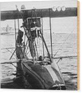 Aerial Torpedo, 1915 Wood Print