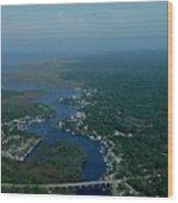 Aerial View 2 Wood Print