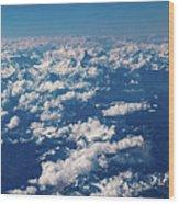 Aerial View Wood Print
