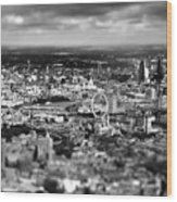 Aerial View Of London 6 Wood Print