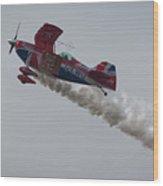 Aerobatics Wood Print
