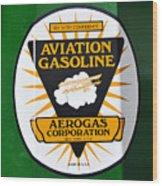 Aerogas Green Pump Wood Print
