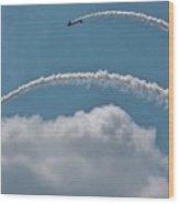 Aeroshell Aerobatics Wood Print