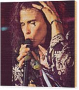 Aerosmith-94-steven-1192 Wood Print
