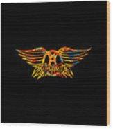 Aerosmith Wood Print