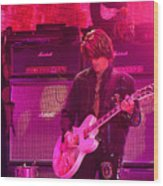 Aerosmith-joe Perry-00008 Wood Print