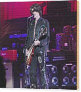 Aerosmith-joe Perry-00022 Wood Print