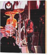 Aerosmith-joe Perry-00163 Wood Print