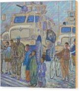 Afghanistan 2009 Wood Print