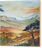 Africa Wood Print
