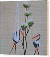 Africa Stylized 1 Wood Print