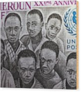 Africa Unicef Wood Print