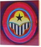 African American Wood Print