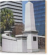 African American History Monument Wood Print