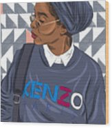 African Americans Wood Print