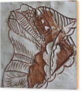 African Angel - Tile Wood Print