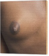 African Girl Nude Nipple 1197.02 Wood Print