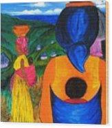 African Life 2919 Wood Print