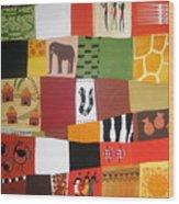 African Matrix Wood Print