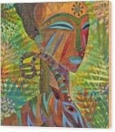 African Queens Wood Print