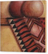 African Touch Wood Print
