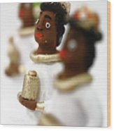 African Wise Men Wood Print by Gaspar Avila