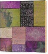 Afrikan Batik II Wood Print