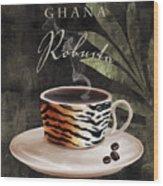Afrikan Coffees II Wood Print