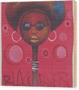 Afro American Women Wood Print