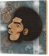 Afrocentriverse Wood Print