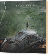 After Earth Movie 2013 Wood Print