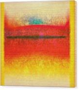After Rothko 8 Wood Print