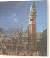 After St. Mark's Square Wood Print