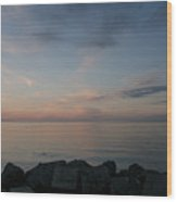 After Sunset IIi Wood Print