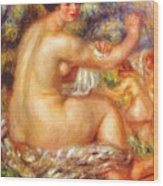 After The Bath 1912 Wood Print
