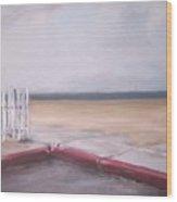 After The Rain Newport Beach Wood Print