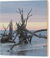 After The Storm At St. Helena Wood Print