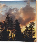 After The Storm Wood Print