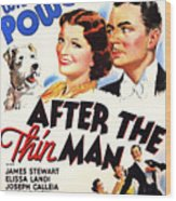 After The Thin Man 1935 Wood Print