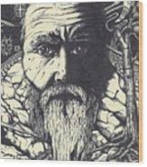 After Wonderland, No. 8 Wood Print