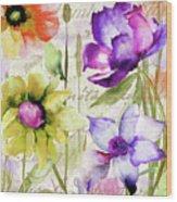 Afterglow II Wood Print